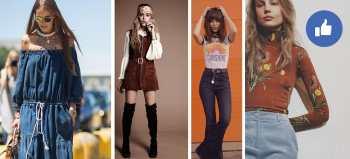 Moda de los años 70s