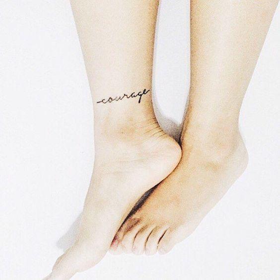 10 Tatuajes Sencillos Que Lucirán Hermosos En Tus Tobillos Mujer De 10