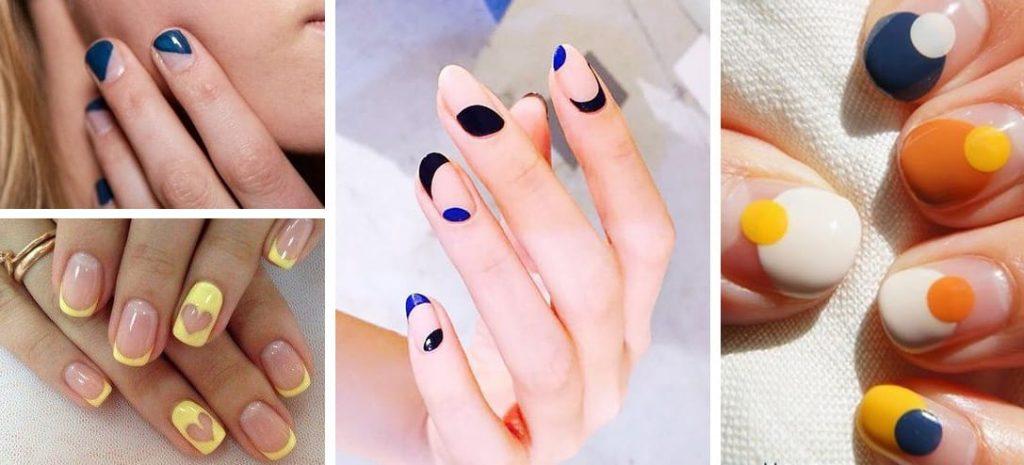 Diseños De Uñas De Manos Faciles Decoración De Uñas