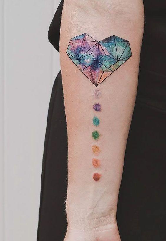 10 Tatuajes De Chacras Para Equilibrar Tu Vida