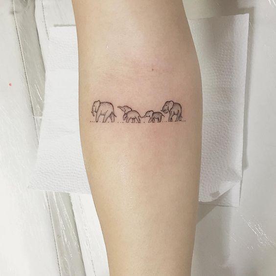 Tatuajes De Familia De 4 Personas
