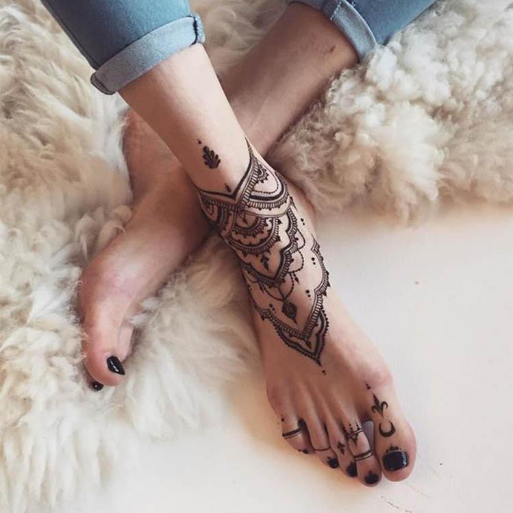 8 Tatuajes De Pulsera En Los Tobillos Que Te Encantarán Mujer De 10