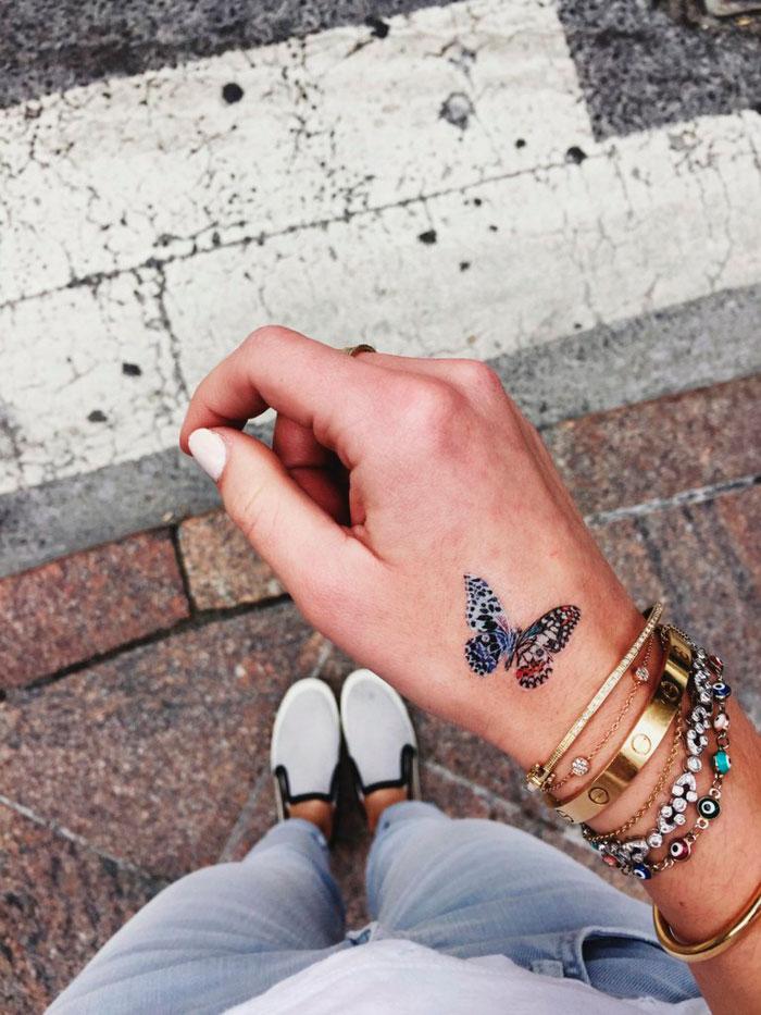 10 Ideas De Tatuajes En La Mano Que Definitivamente Te Encantarán