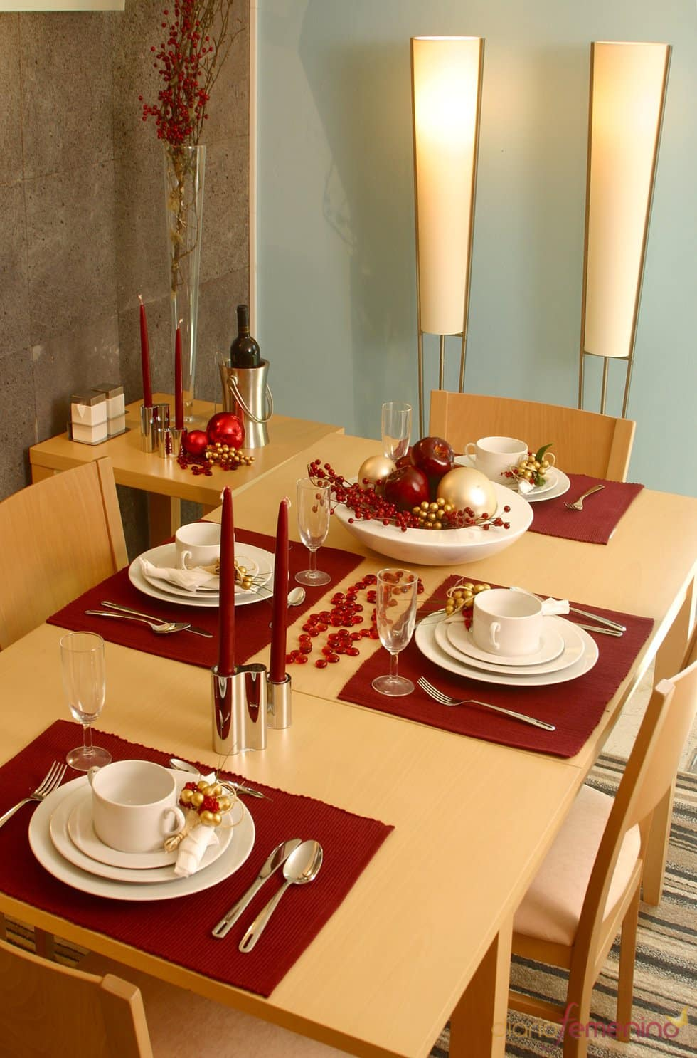 32 ideas de mesas navideas para decorar en Navidad