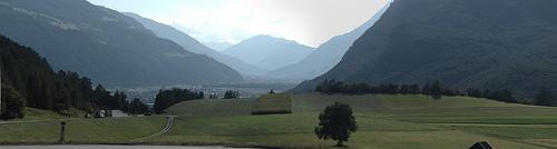 Panoramica Valle del Inn