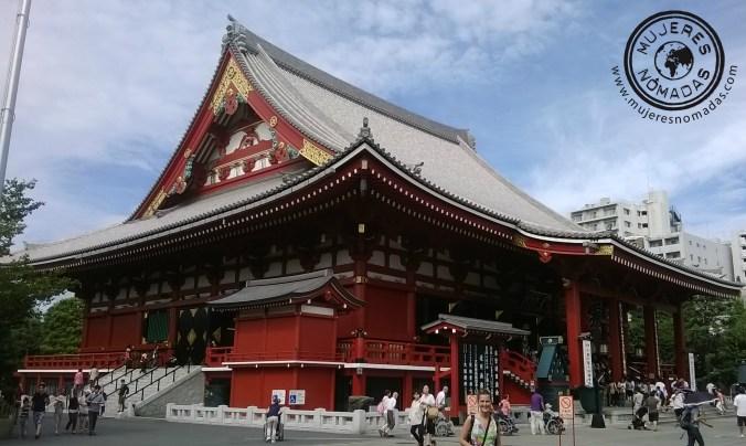 Barrio tradicional Asakusa en Tokio