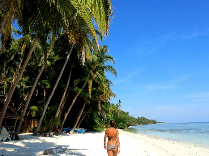 Claudia en Filipinas.