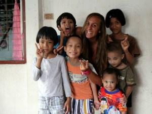 Claudia en Colabora Birmania, Myanmar.