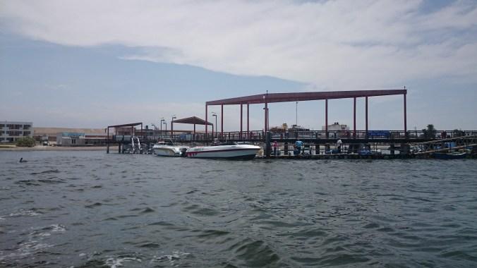 Muelle bahía Paracas