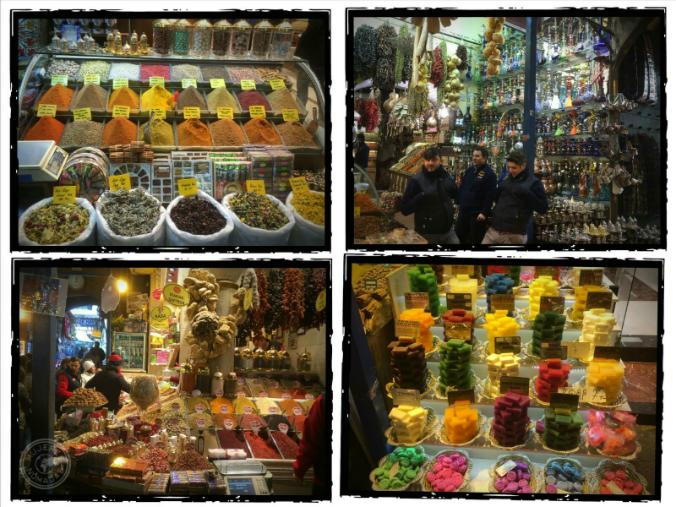 Colores y olores de los bazares...