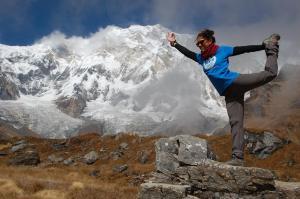Proyecto Viajero. Laura en Nepal.