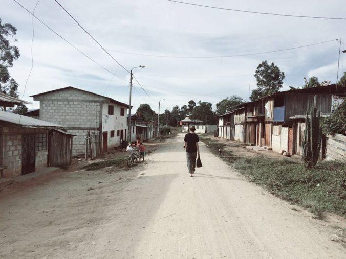 Miricharo, una pequeña localidad en el centro de la selva Peruana