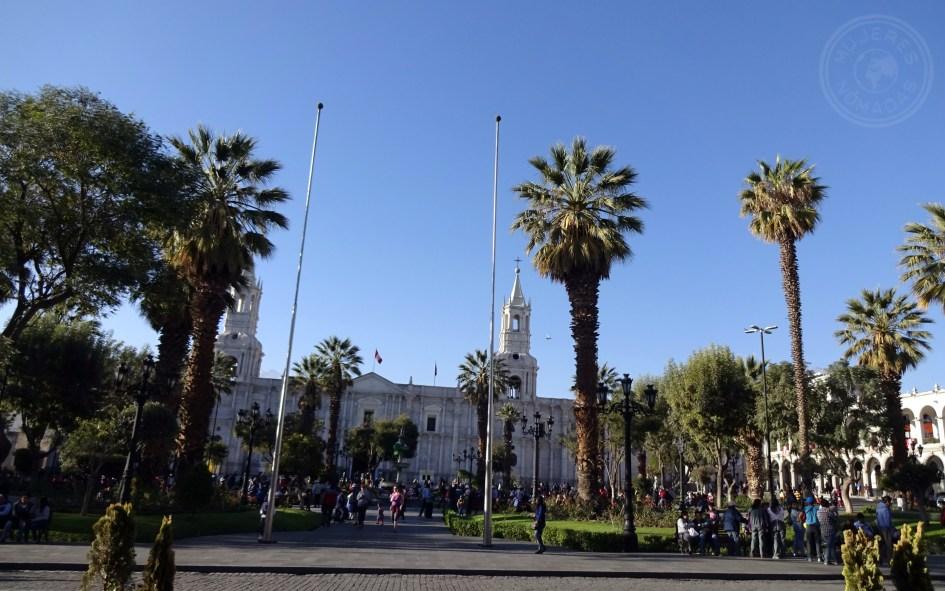 Plaza de Armas en Arequipa