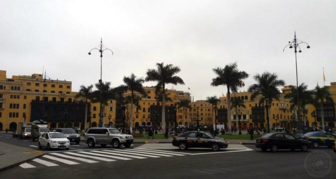Centro Histórico de Lima visto desde otro ángulo