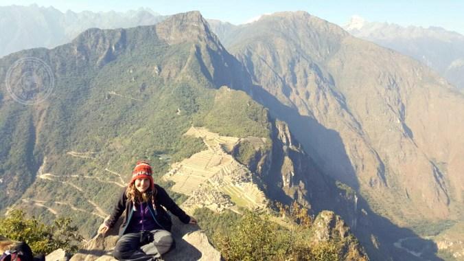 Vista desde WaynaPicchu. Mis pies tenían raíces, algo muy fuerte me sujetaba en mi subida. MAGIA.