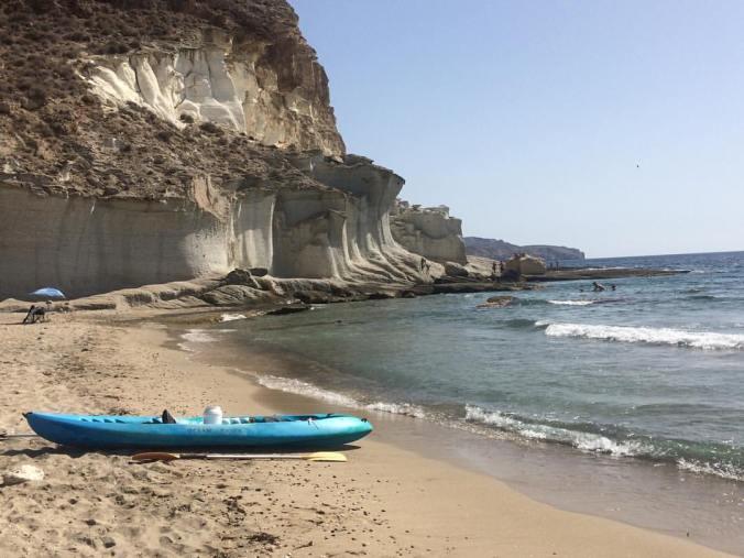 Ruta en kayak Las Negras-Cala de Enmedio
