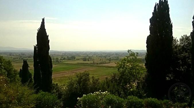En ruta en coche por La Toscana.