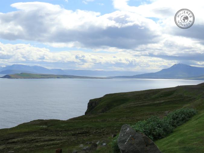 Fiordo en el Norte de Islandia