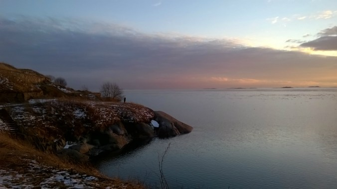 Finlandia. Isla de Suomenlinna.