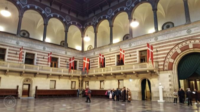 Interior del Ayuntamiento.