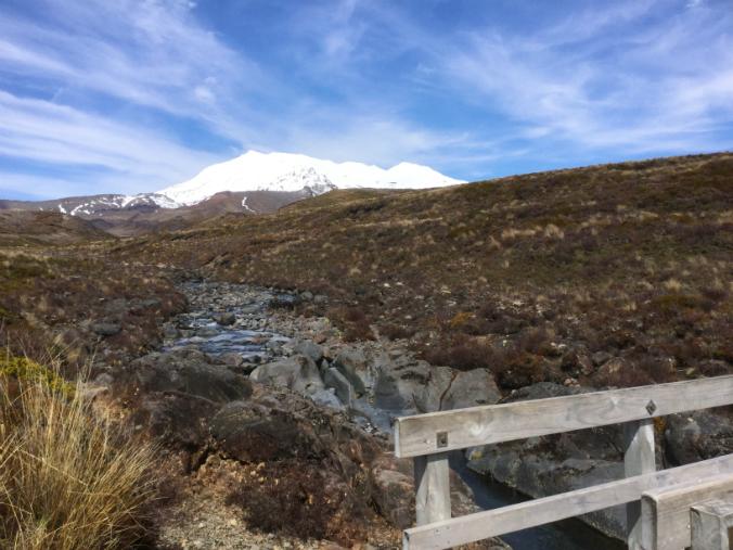 Paisaje de Tongariro Park