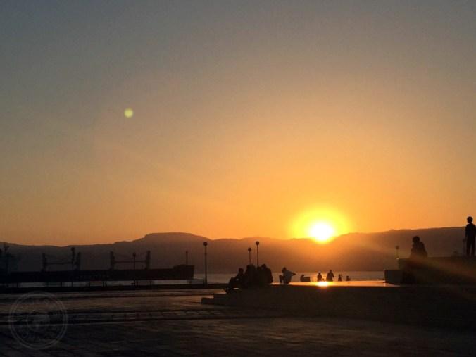 Un día cualquiera de agosto en Áqaba, sur de Jordania.