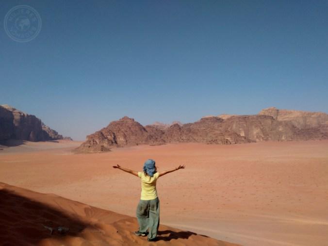 """Wadi Rum, el """"Valle de la Luna""""."""
