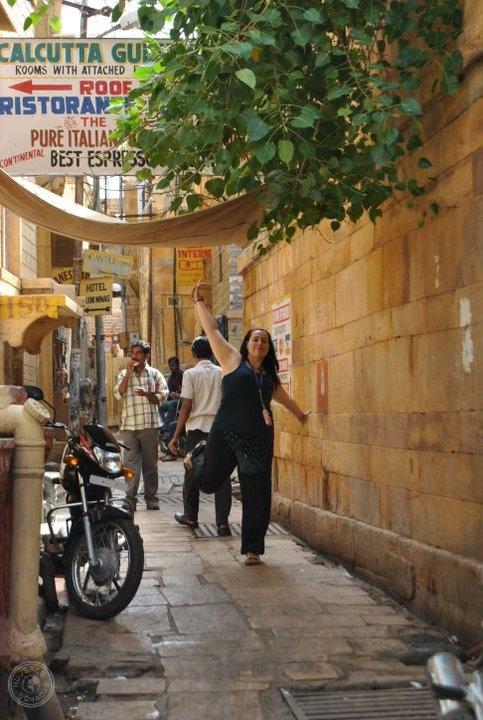 Paseando por Jaisalmer. India