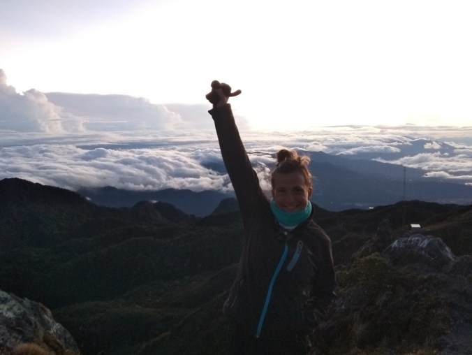 Panamá. En la cima del Volcán Barú.
