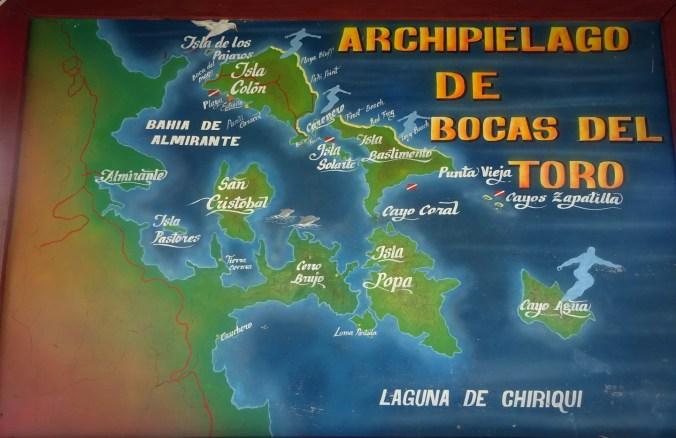 Panamá. Archipiélago Bocas del Toro.