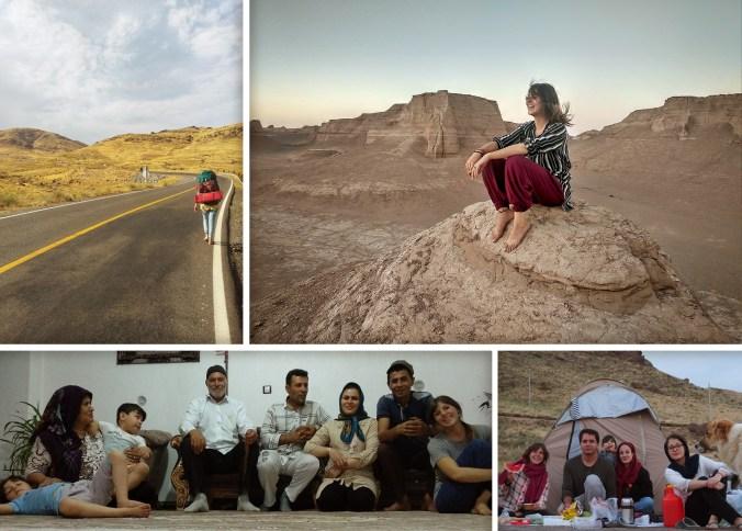 Paisajes y hospitalidad en Irán.