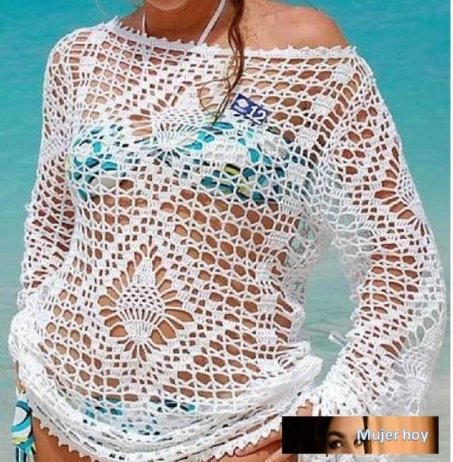 Túnica crochet patrones