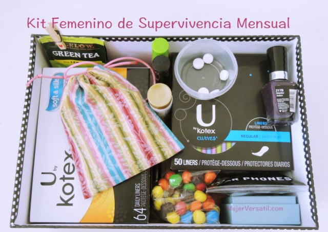 Kit Femenino de Supervivencia