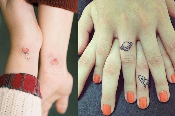 Tatuajes Para Hacerte Con Tus Amigas De Toda La Vida Mujer Y Punto