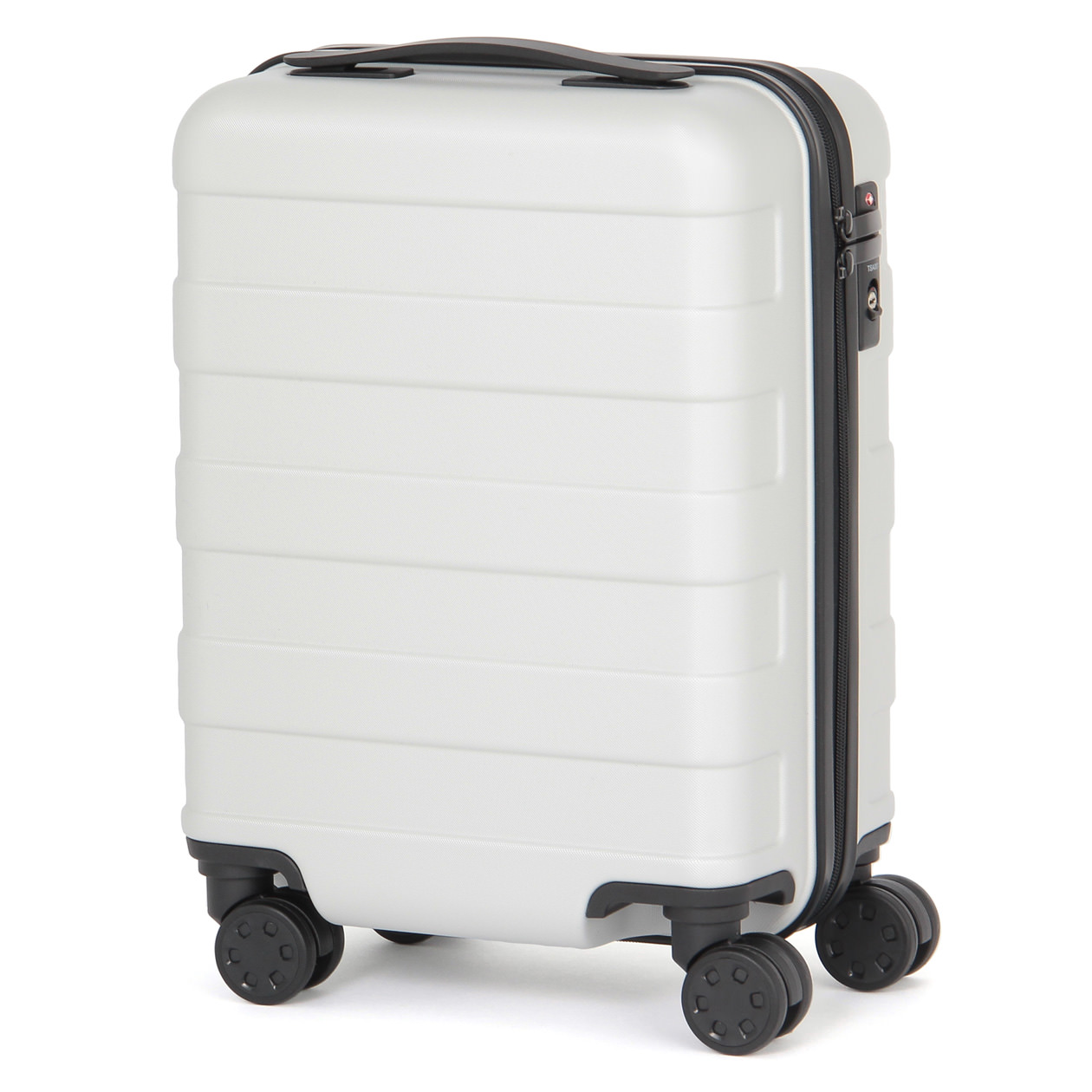 polycarbonate hard carry suitcase