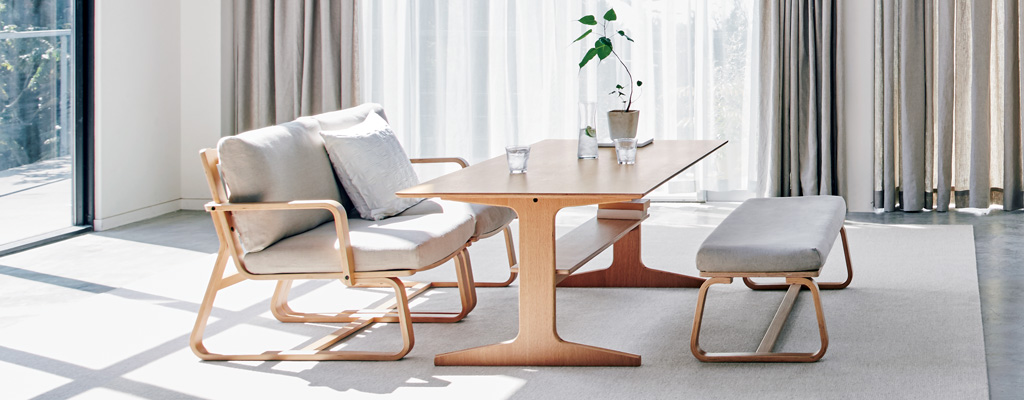 dining table in living room pictures painting for oak wood furniture muji product information and size