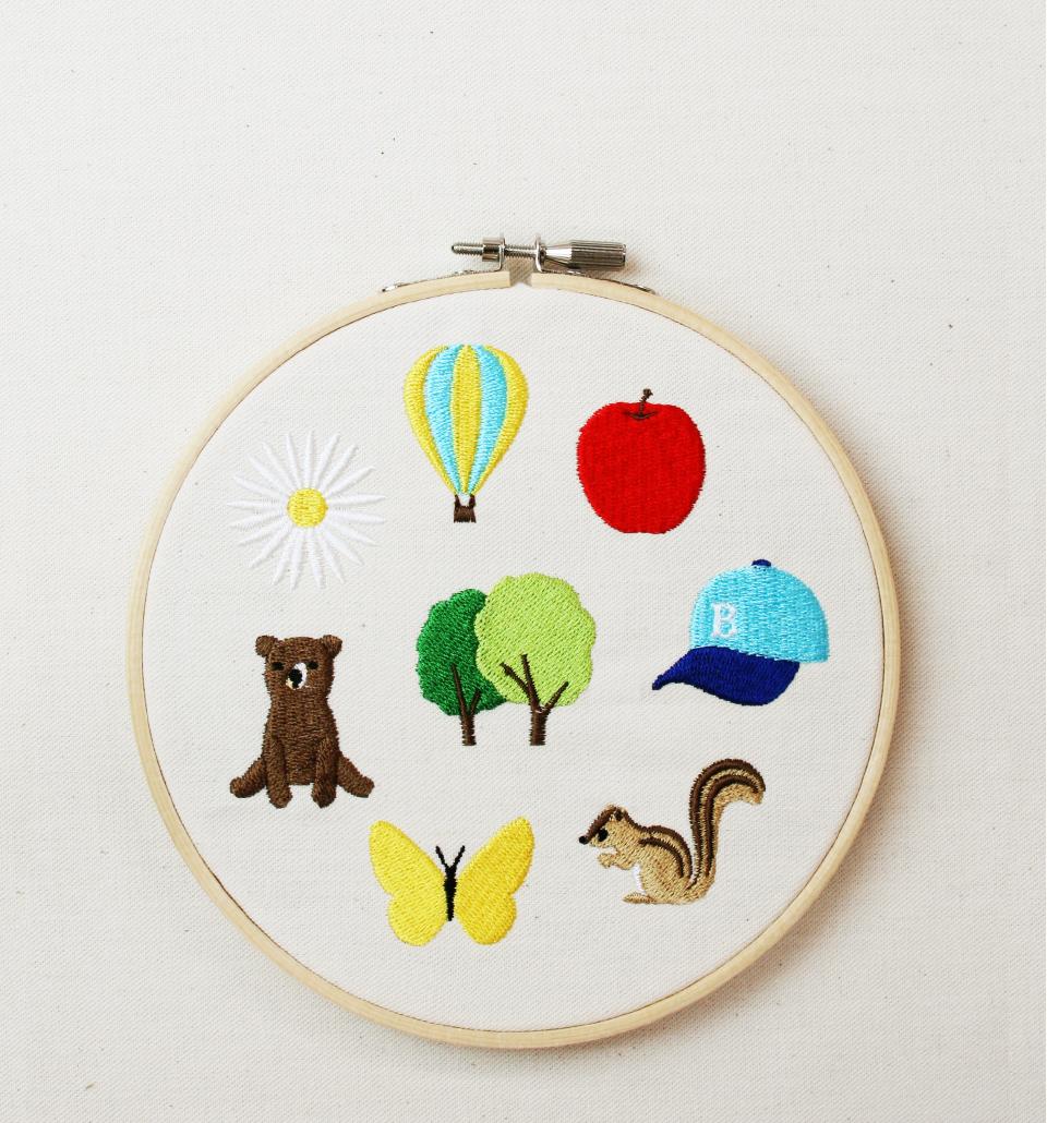 embroidery muji