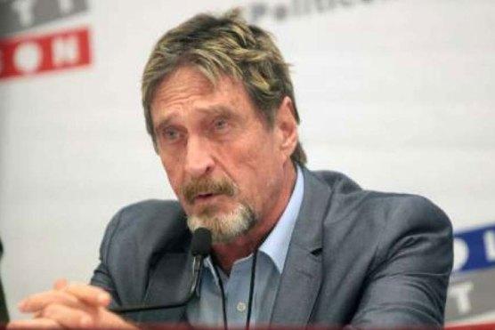 اینٹی وائرس میکافی کے موجد کی جیل میں مبینہ خودکشی