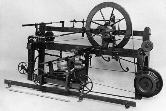 کپاس (17) ۔ صنعتی ایجادات
