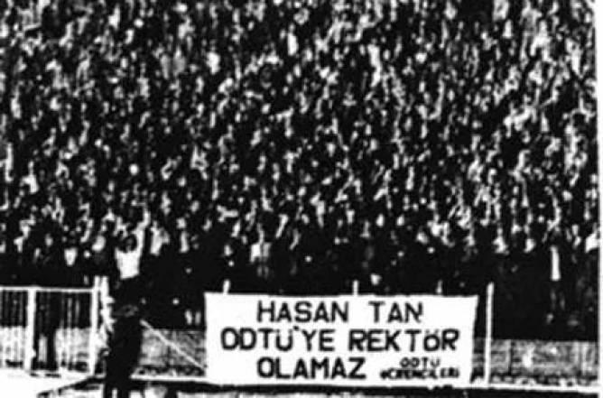 ODTU Hasan Tanin Rektor atanmasina karsi direnis