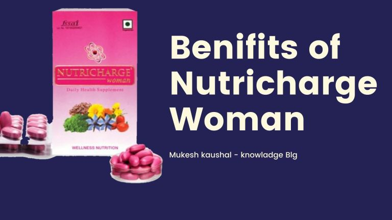 Nutricharge woman