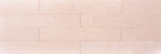 カバザクラ,バーチ挽き板フローリング,幅広,無塗装