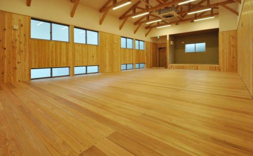 福岡県 剣道場床工事施工事例