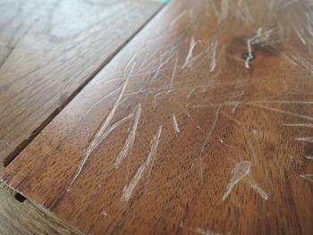 無垢フローリングウレタン塗装剥がれ・ウレタン塗装の劣化