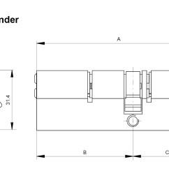 mul t lock euro profile single cylinder with flat thumb turnmul t lock interactive euro profile [ 1416 x 872 Pixel ]