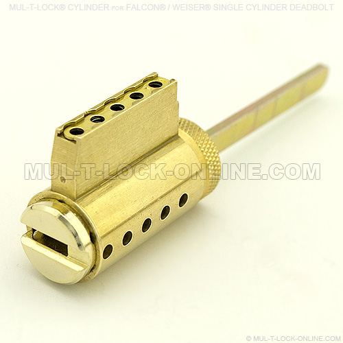 MULTLOCK Cylinder for FALCON  WEISER Deadbolt  Online Store