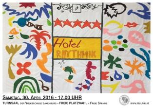 HotelRHYTHMIK_Plakat2016