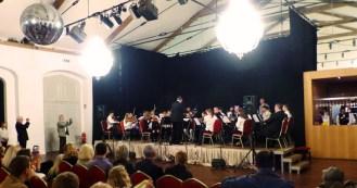 Das Musikschul-Orchester in Aktion