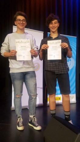 Foto Preisträger Roman und Michi