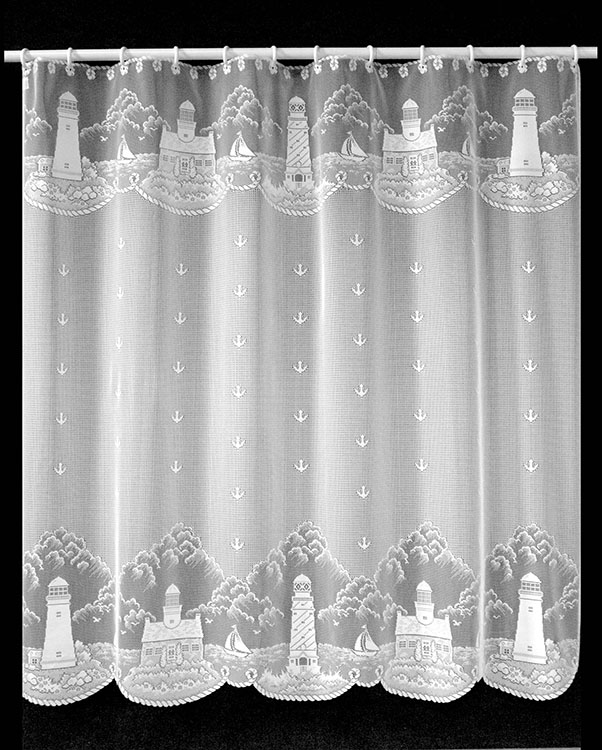 lighthouse lace curtains